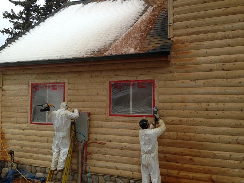 970 368 2308 Log Home Maintenance